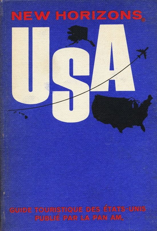 Pan-Am guide for the USA. No designer credit, boo!