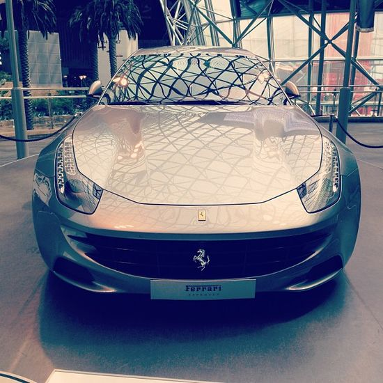 Drop dead gorgeous Ferrari FF!