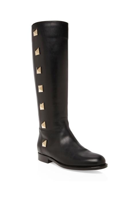 Valentino Black Lock Boots