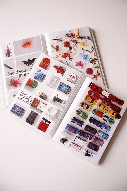 DIY I Spy Books