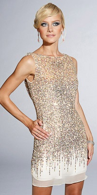 Sparkly. Dress.