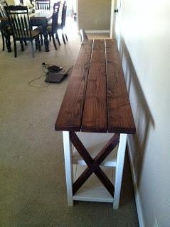 DIY: Console Table.
