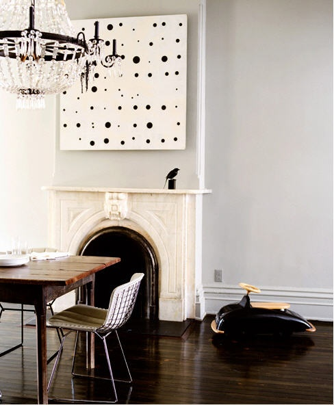 Jenna Lyons Dining Room via Domino