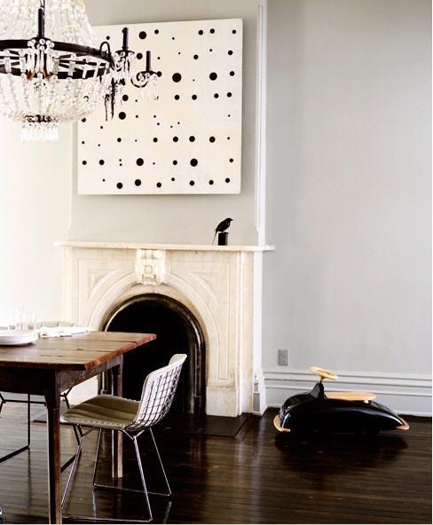 Jenna Lyons Dining Room via Domino