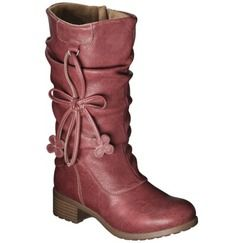 Girl's Rachel Shoes Chelsea 2 Fashion Boot - Red