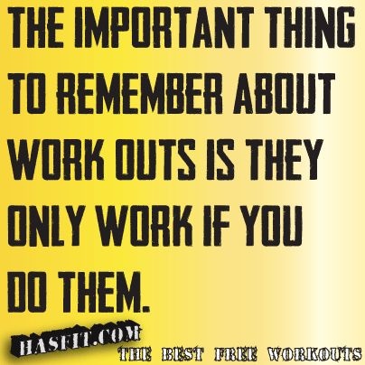 work out quote motivation