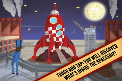 FREE app June 10th (reg 2.99) Trip to the Moon is a sci-fi digital tale for kids, loaded with special effects and geeky quotes. And so...let the magic begin: jump on board and let Dr Barbenfouillis and his odd and funny crew lead you towards this new interactive journey!