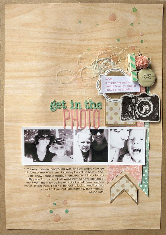 #papercraft #scrapbook #layout  Amandajotmood8