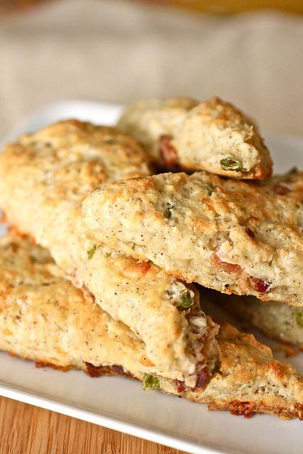 Bacon-Cheddar Scones
