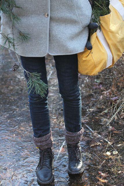 Exposed socks. Jeez I need some socks.