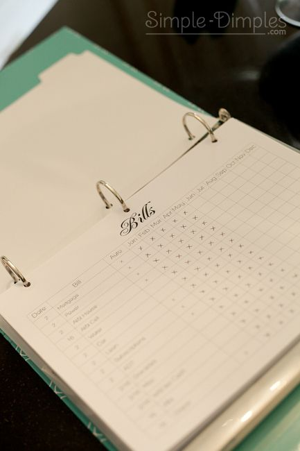 Seriously – the best home binder PDF's I've found on Pinterest!