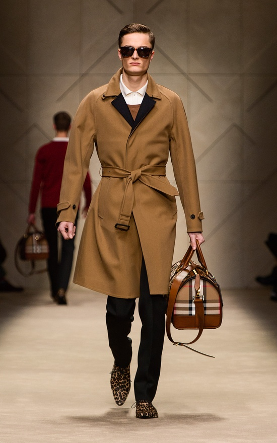 Burberry Fall/Winter Men's Collection 2013