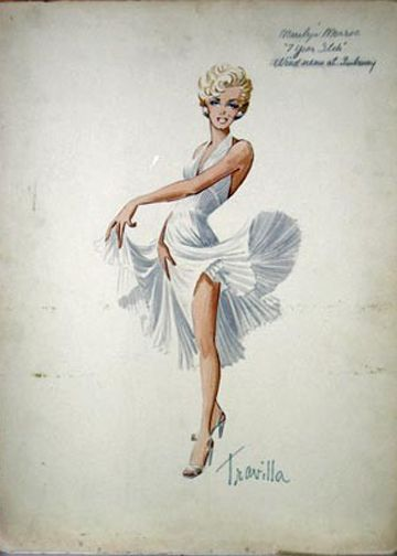 Marilyn Monroe in The Seven Year Itch by William Travilla