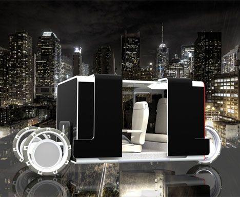 Renault Runner : Green Future Taxi #luxury sports cars #sport cars #ferrari vs lamborghini