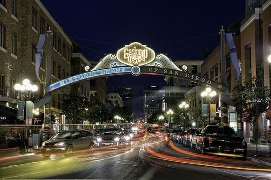 Gaslamp Quarter, San Diego, California