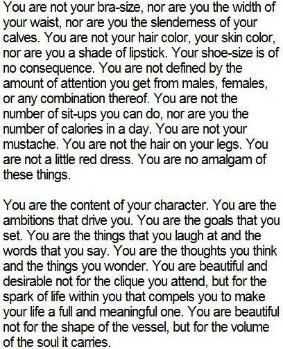 Every girl should have to read this.