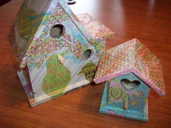 bird houses!