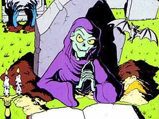 Tales From the Crypt Keeper was an awesome horror cartoon from the 90's.
