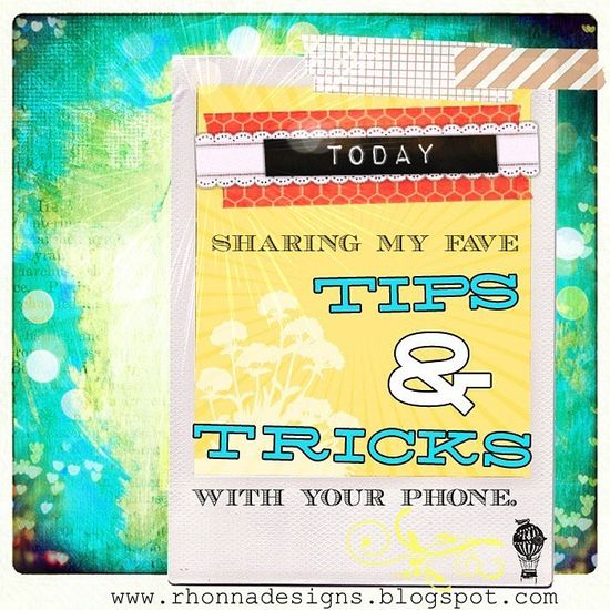 Rhonna DESIGNS: Photography Tips and Tricks with your phone app ~ this gal is amazing with all the iPhone apps!  Plus she is one of the sweetest people on IG!  Loveth her!    ----BTW, Please Visit:  artcaffeine.imobi...