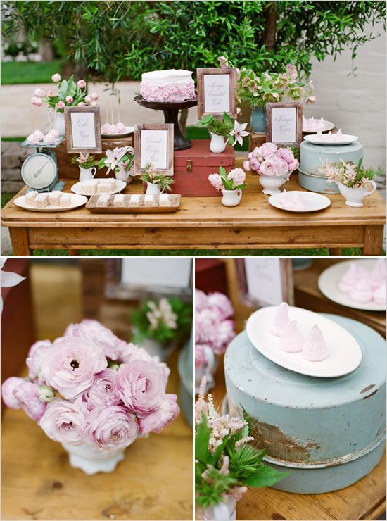Treat table arrangement.