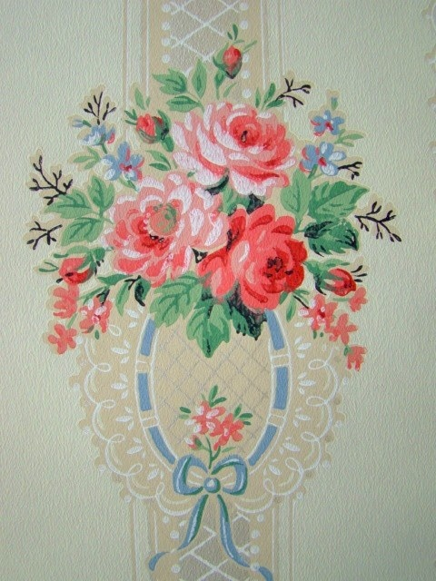 gorgeous vintage wallpaper