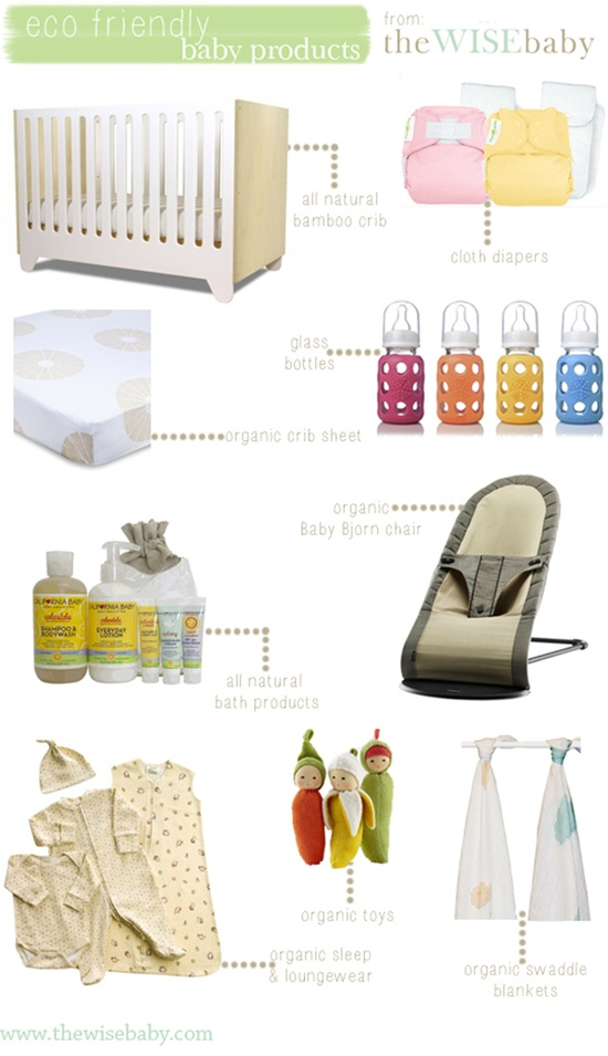 Some great eco friendly baby products - add a few to your life!