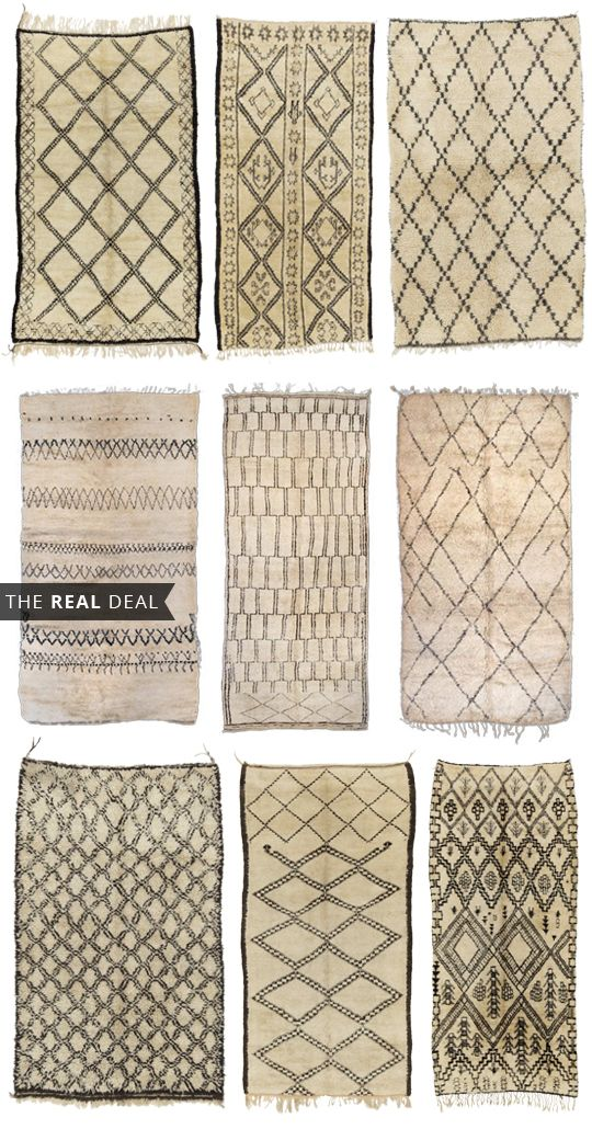Beni Ourain Rugs - 13 Places to Buy Them
