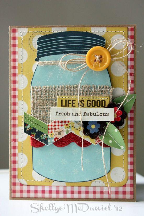 super cute simple stories summer fresh card