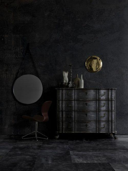 #ALL #BLACK #interior #interior decorating #interior design #modern house design #home design ideas