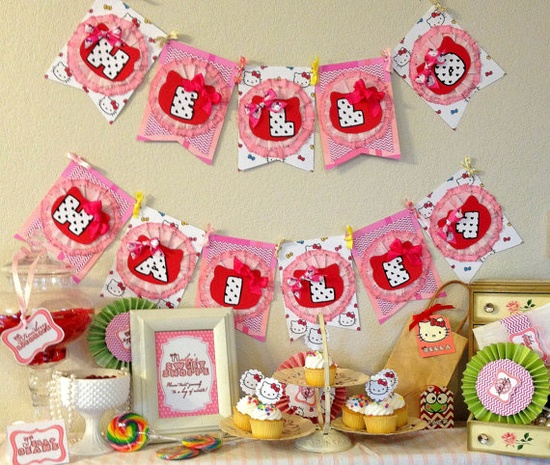 Custom ordered birthday/party/baby shower banners and packages! Seriously so cute and amazing!!