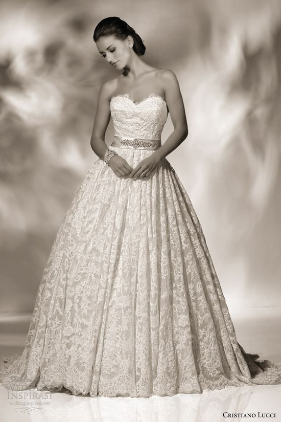 cristiano lucci 2013 wedding dress style 12806 sienna strapless sweetheart ball gown