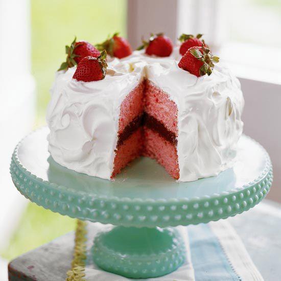Strawberry-Chocolate Cake