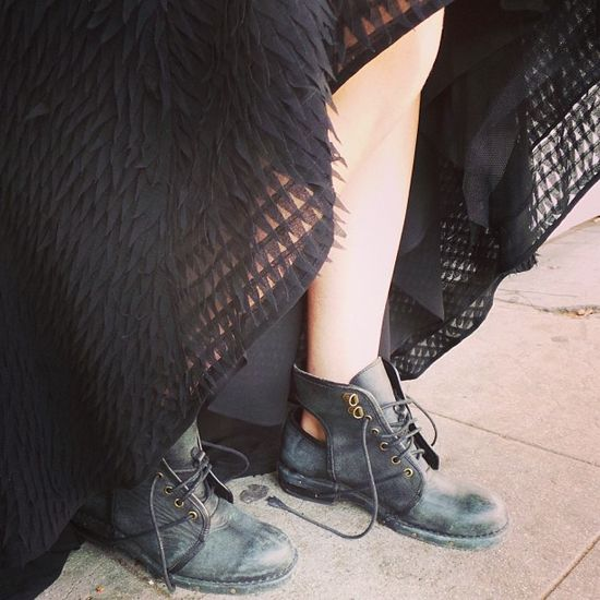 Light as a feather, tough as leather #NastyGalCollection