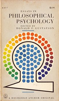 ASB :: Cover Archive :: 1963 - 1964 Essays in Philosophical Psychology