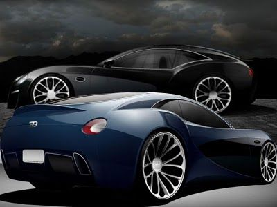 Bugatti Sports motorcycles-Cars Type 12-2 Concept Car