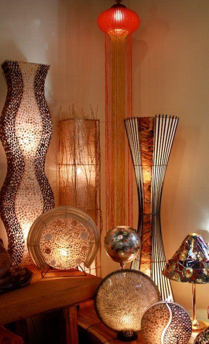 Handmade Lamps - Bali