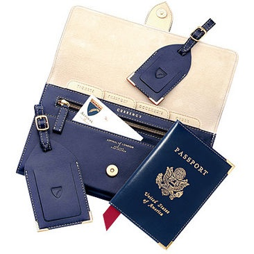Sophisticated, elegant and very chic our Aspinal Deluxe USA Travel Collection will look a million dollars when you next flourish your tickets.