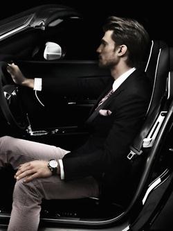 Nothing less than perfect: Stylish men