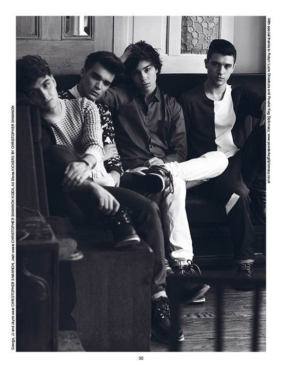 """Union J by Cecilie Harris / Union J For """"Lessons"""" / News / Boys by Girls"""