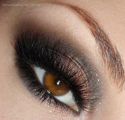 Brown smokey eye makeup #vibrant #smokey #bold #eye #makeup #eyes