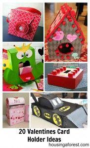 20 creative Valentine Card Holders