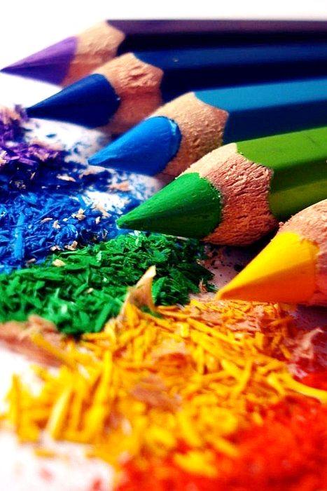 Colour me pencils.