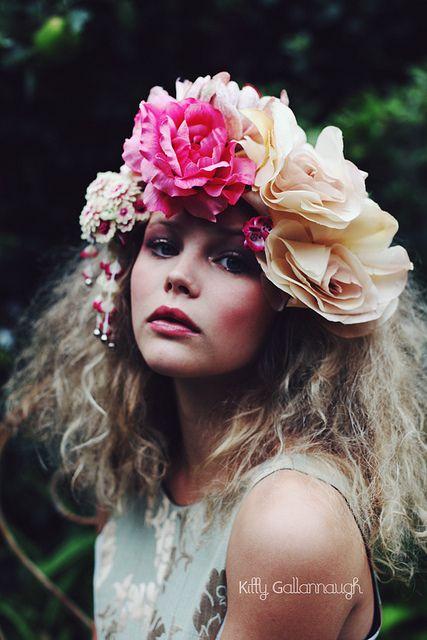 flowers, flower garden, garden, photoshoot, portrait Floral  Board
