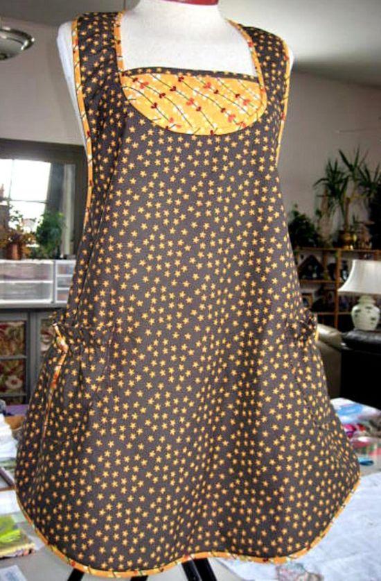 apron, LoftyLady, etsy