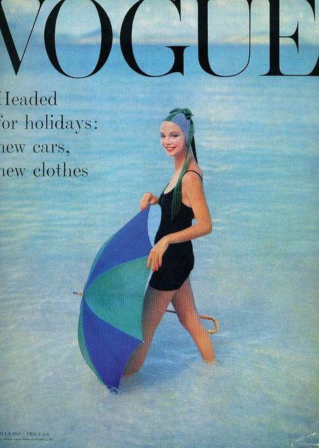 Vogue UK-July 1957