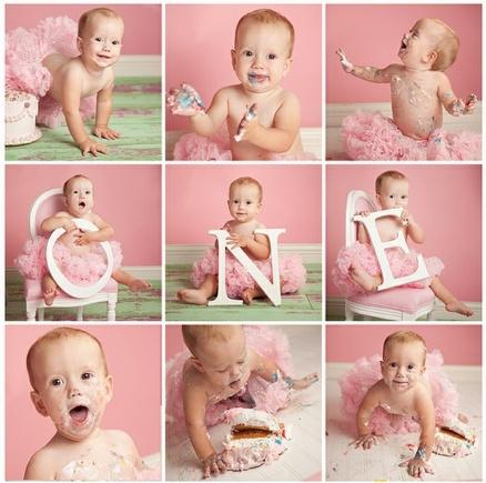 Photo Idea for 1st birthday