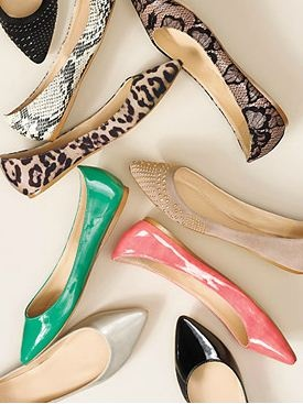 flats {in all the right finishes} :: love!