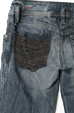 Keep Calm & Do It Yourself: DIY Chain Pocket Jeans