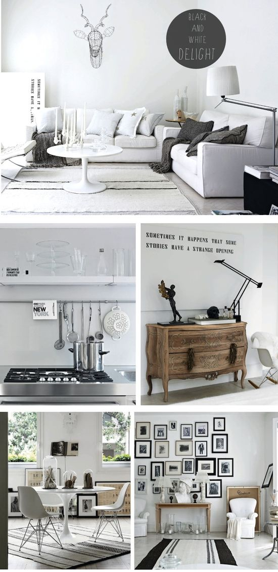 French By Design: Black and white delight