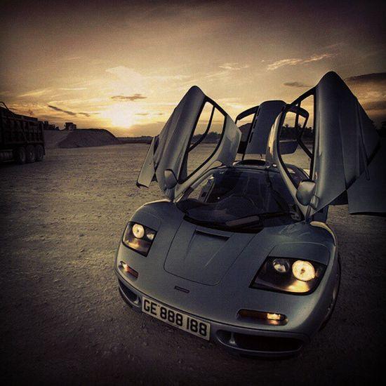 The original supercar-McLaren F1